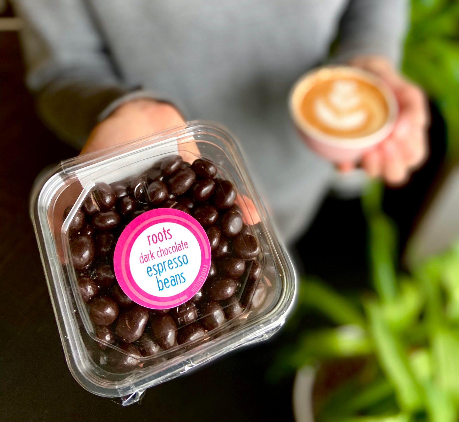 Roots Market - Dark Chocolate Espresso Beans