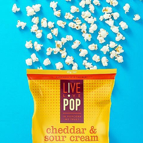 Roots Market - Live Love Pop Cheddar & Sour Cream